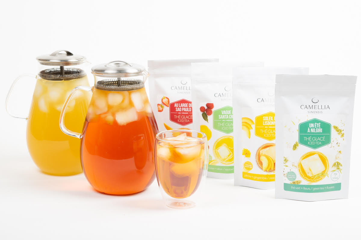 iced tea camellia sinensis