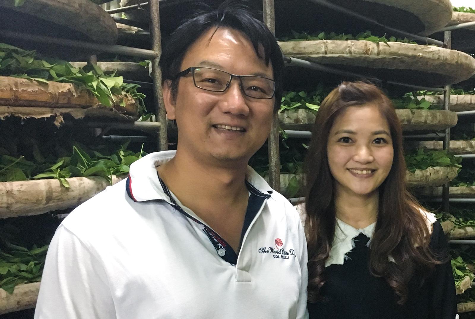 M. Chang et sa femme