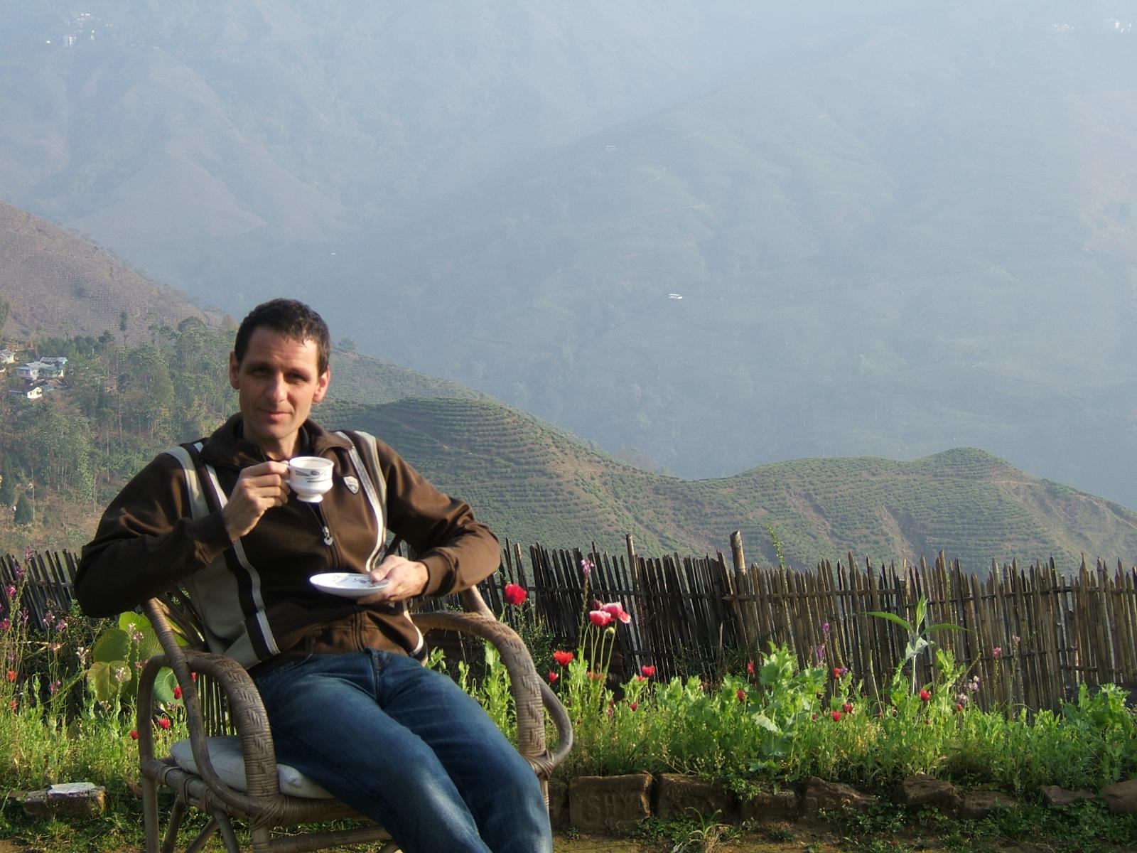 Kevin à Darjeeling