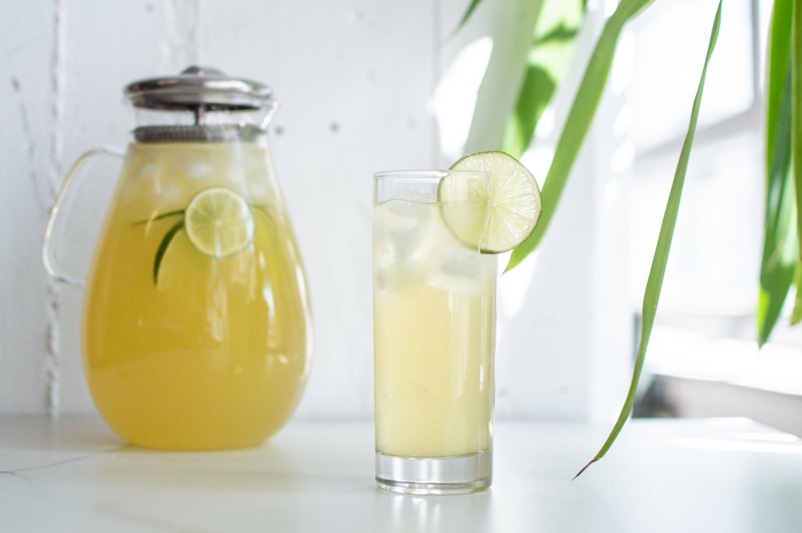 Limonade au thé vert