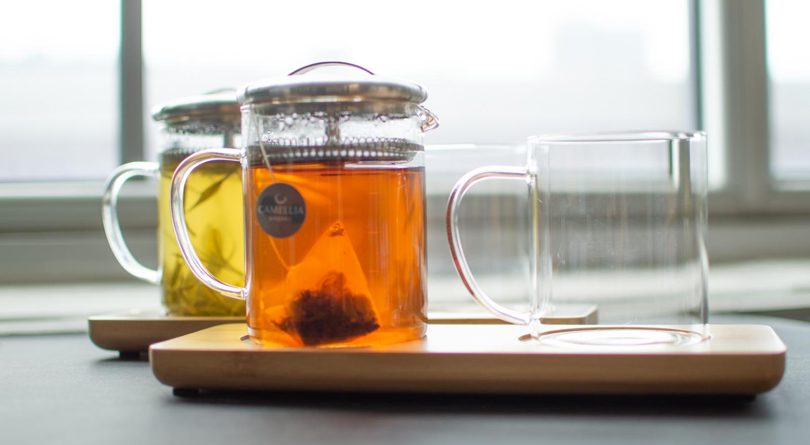 Service du thé